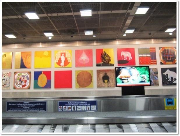 スワンナプーム国際空港荷物