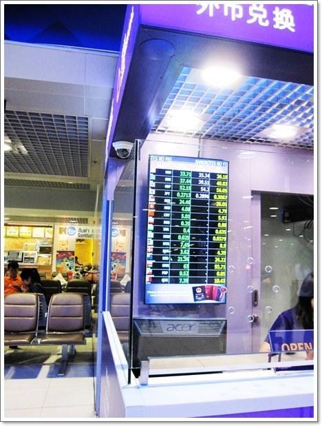 スワンナプーム国際空港レート
