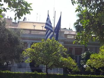 金融危機 デフォルトのギリシャ アテネ市内の様子 高級地区 コロナキ地区