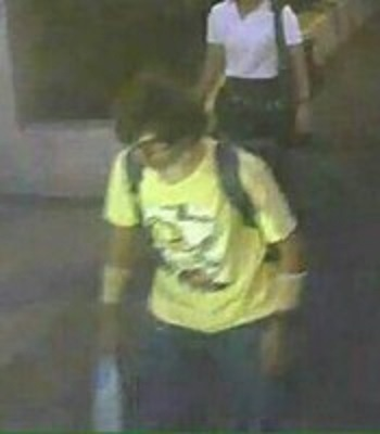 タイ爆破犯人画像