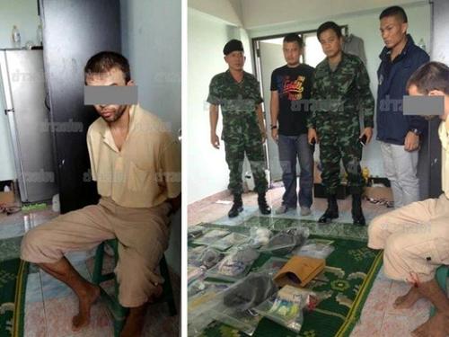バンコク爆弾爆発逮捕
