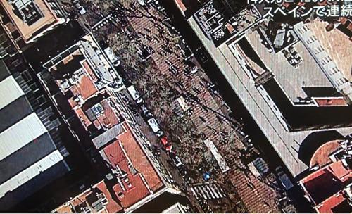 バルセロナのテロ