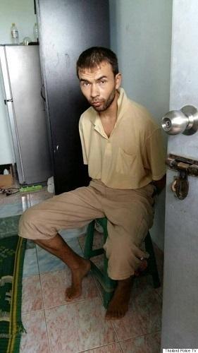 タイ逮捕犯人画像
